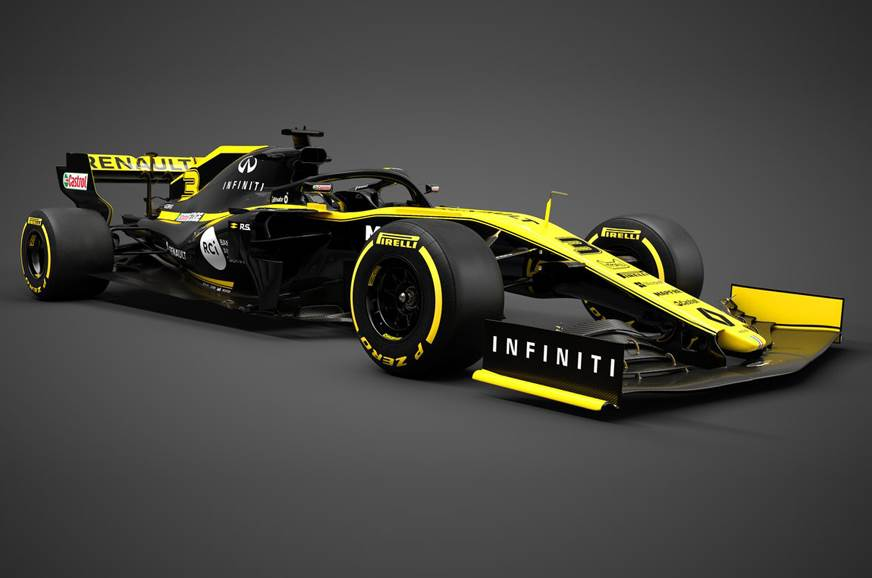 Renault F1 2019 car unveiled