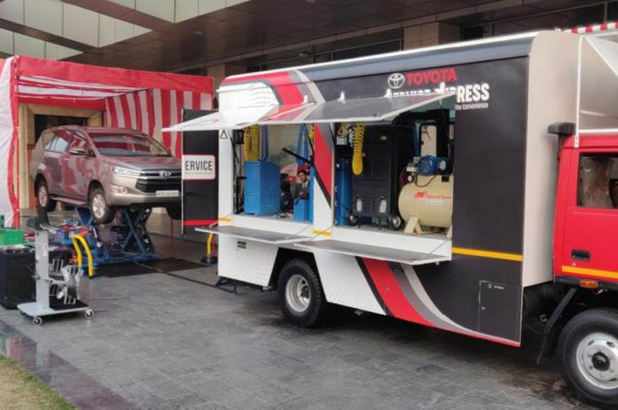 Toyota launches 'Service Express' for car owners