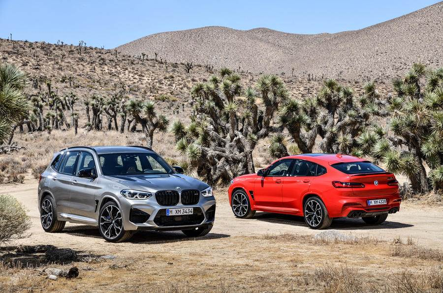 2019 BMW X3 M, X4 M performance SUVs unveiled