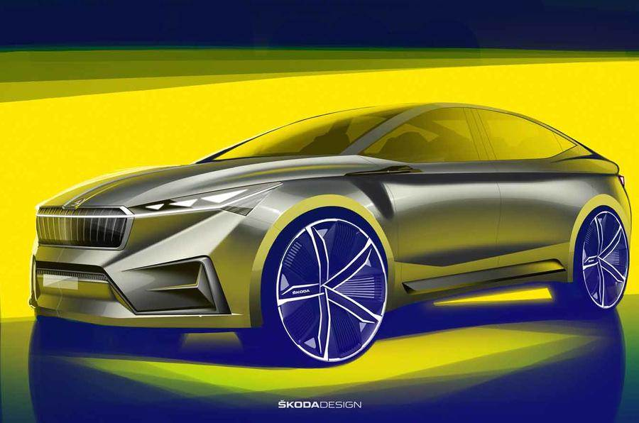 New Skoda Vision iV SUV concept teased