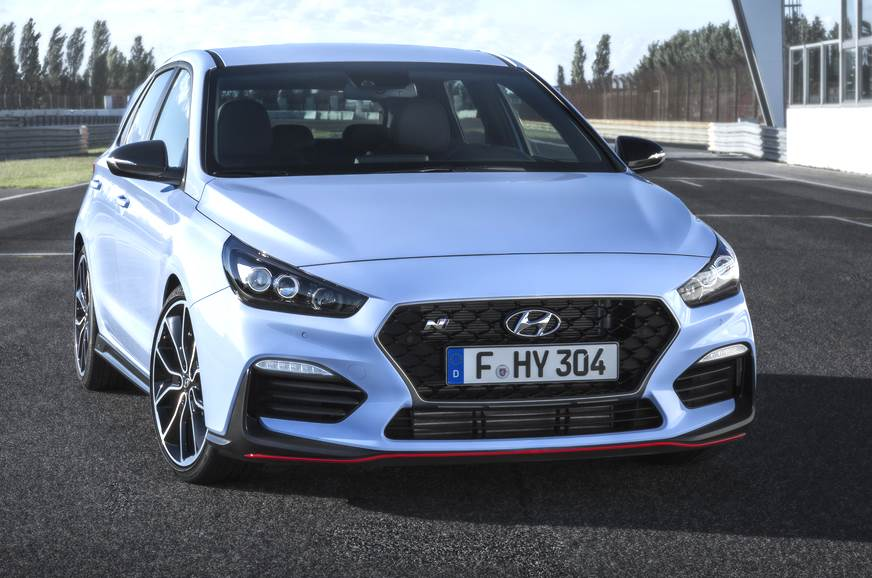 Image of the Hyundai i30 N used for representation only.