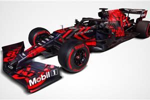 New Honda-powered Red Bull F1 car revealed
