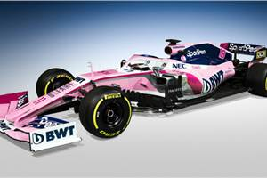 New Racing Point F1 2019 car revealed