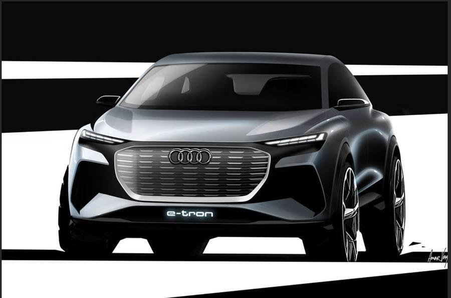 Audi Q4 E-tron concept previewed