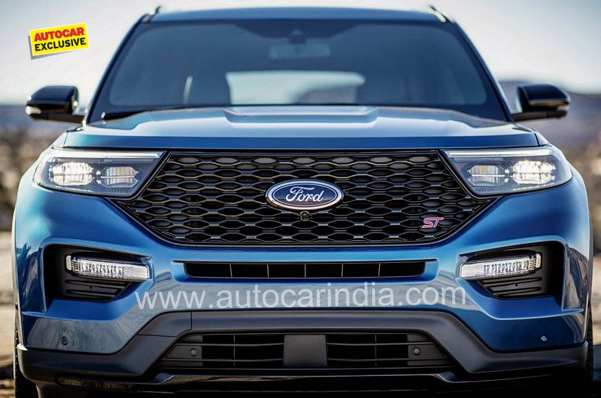 Ford's new, made-for-India SUV coming end-2020