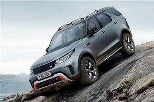 Land Rover Discovery SVX production cancelled