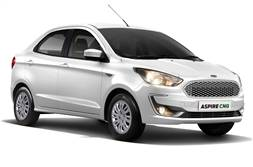 Ford Aspire CNG launched at Rs 6.27 lakh