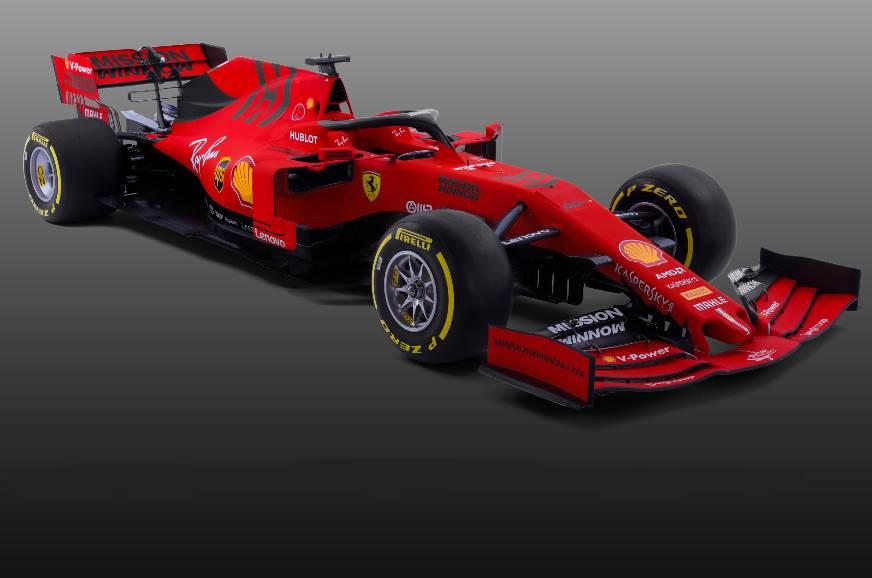 Ferrari F1 2019 car revealed