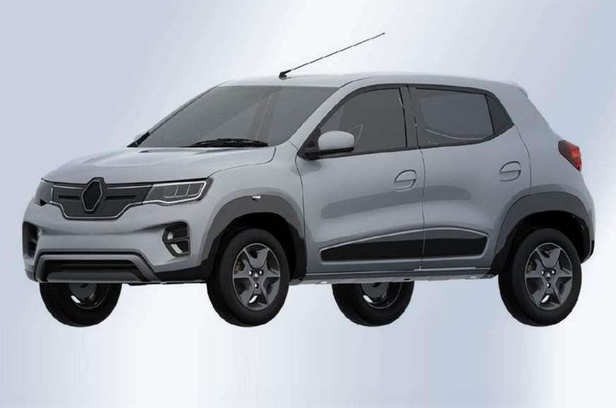 Renault Kwid EV design leaked