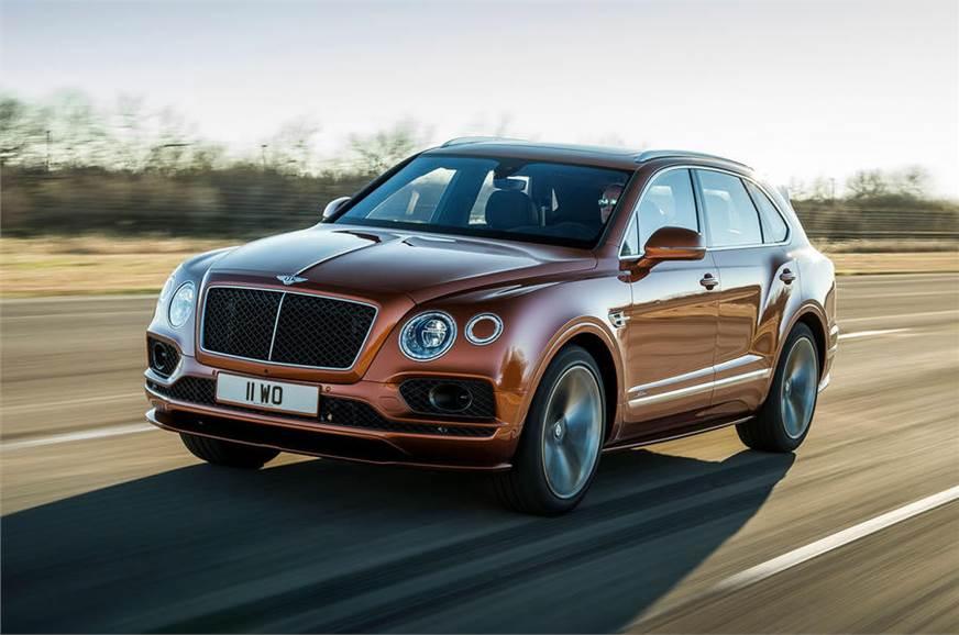 Bentley Bentayga Speed claims world's fastest SUV title