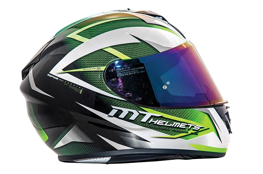 MT Rapide helmet review
