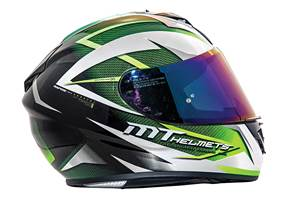 MT Rapide helmet review