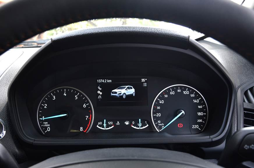 2019 Ford EcoSport gets updated instrument cluster