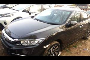 New Honda Civic reaches dealerships ahead of March 7 launch