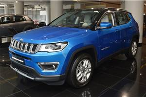 Up to Rs 1.2 lakh discount on 2018 Jeep Compass