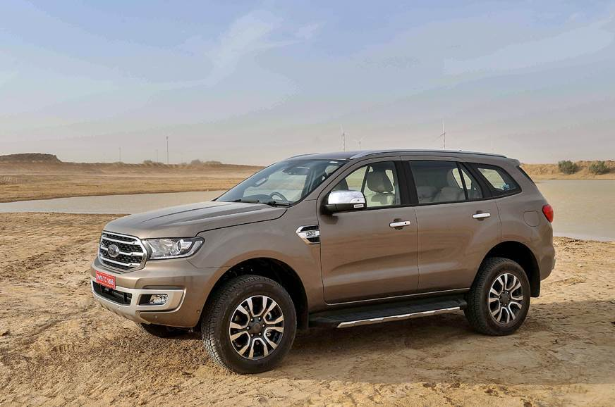 India-spec Ford Endeavour facelift officially revealed
