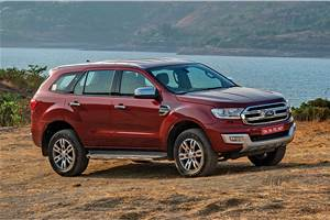 Pre-facelift Ford Endeavour now with Rs 1 lakh discount