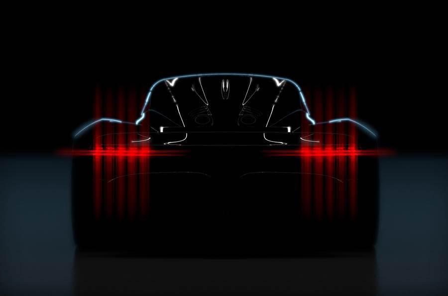 Aston Martin teases new hypercar