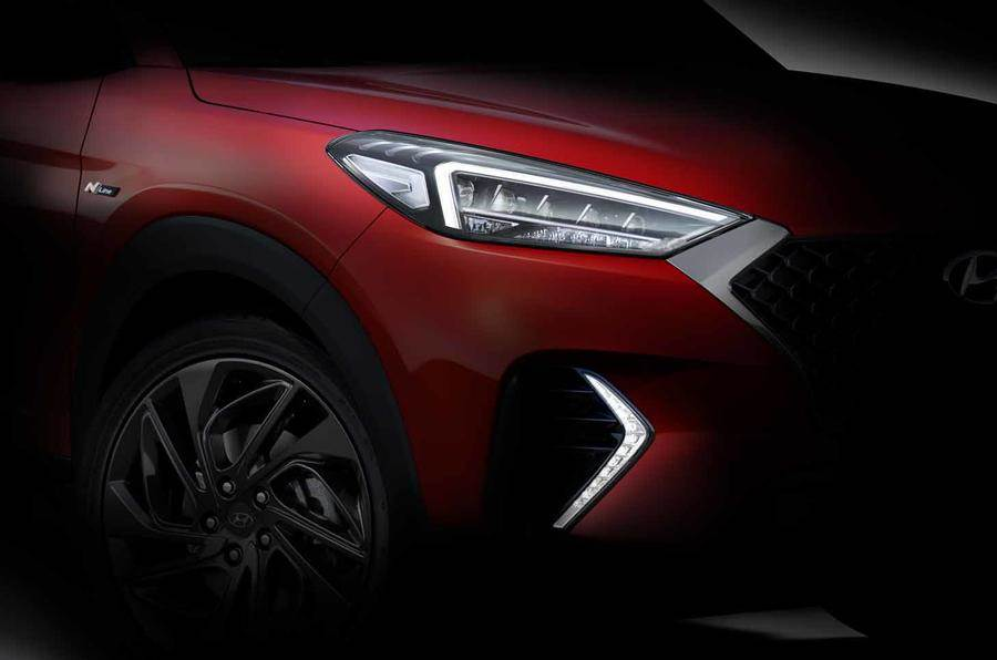 Hyundai Tucson N-Line previewed