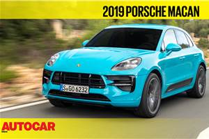 2019 Porsche Macan facelift video review