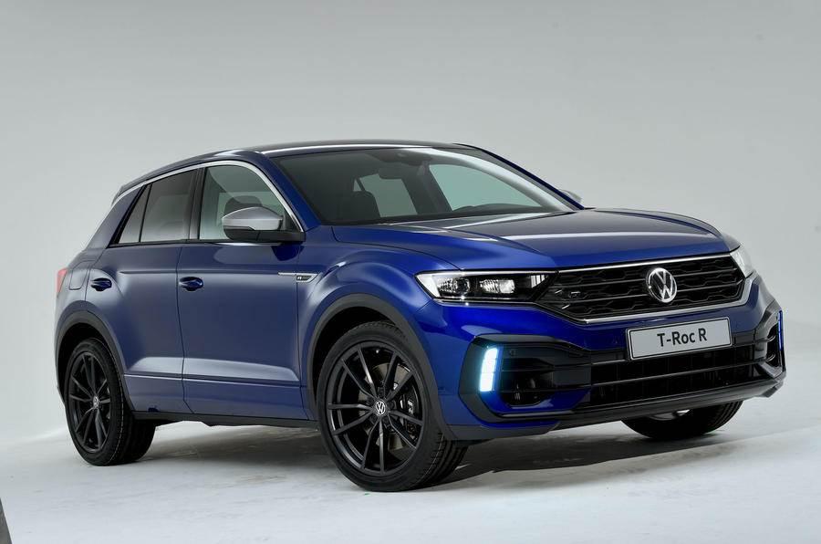 Hotter Volkswagen T-Roc R SUV revealed