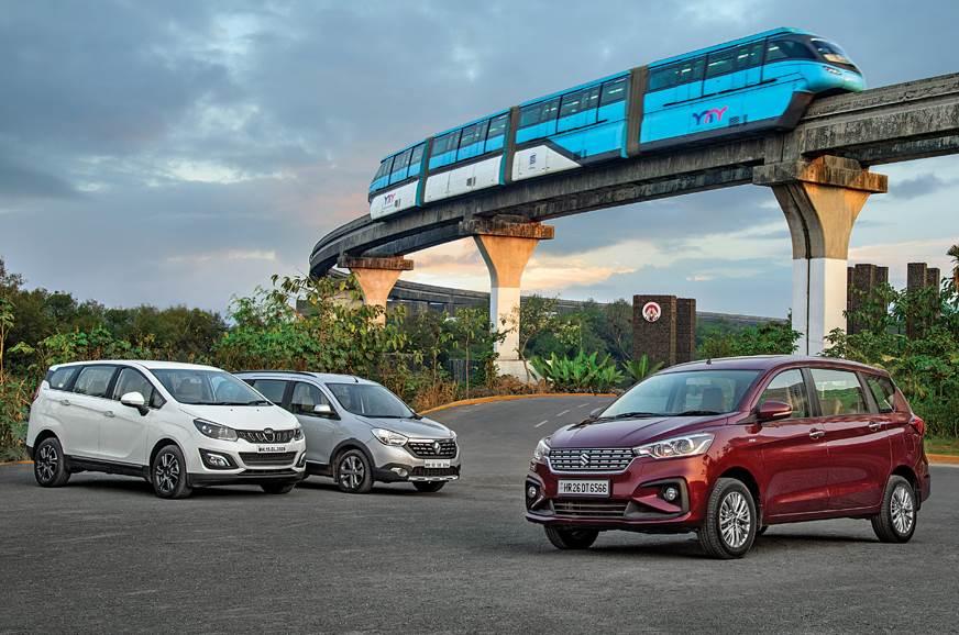 Maruti Suzuki Ertiga vs Mahindra Marazzo vs Renault Lodgy...