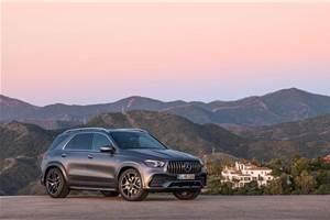 Mercedes-AMG GLE 53 with mild-hybrid tech revealed