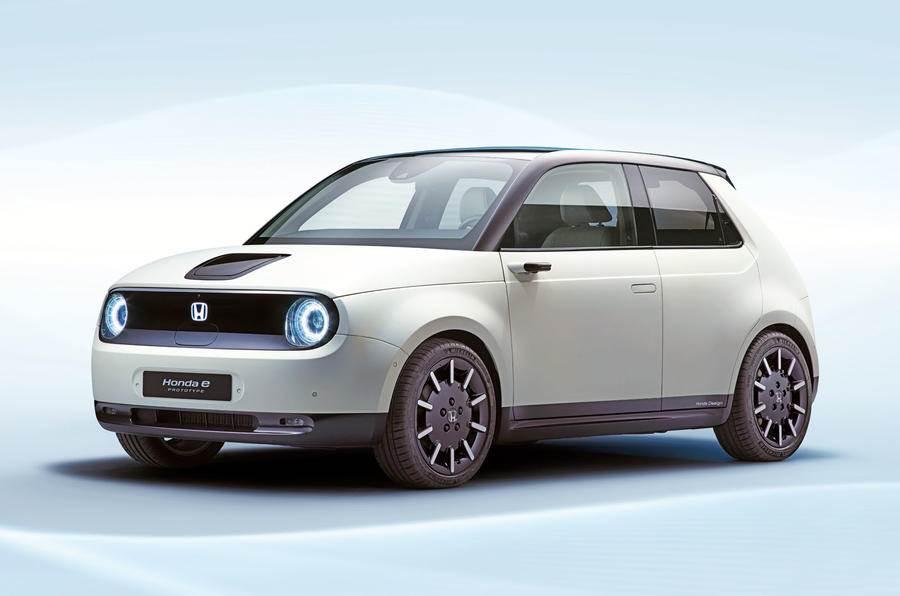 Near-production Honda Urban EV revealed