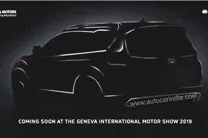 7-seat Tata Harrier (H7X) teased ahead of Geneva unveil
