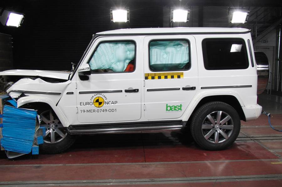 New Mercedes G-class receives five-star safety rating from Euro NCAP