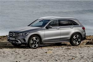 Mercedes-Benz GLC facelift revealed