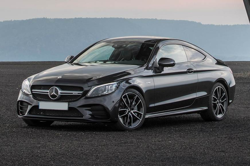 Mercedes-AMG C 43 Coupe facelift launch India on March 14