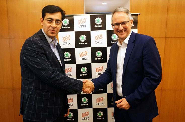 Skoda India ties up with Orix for new car leasing