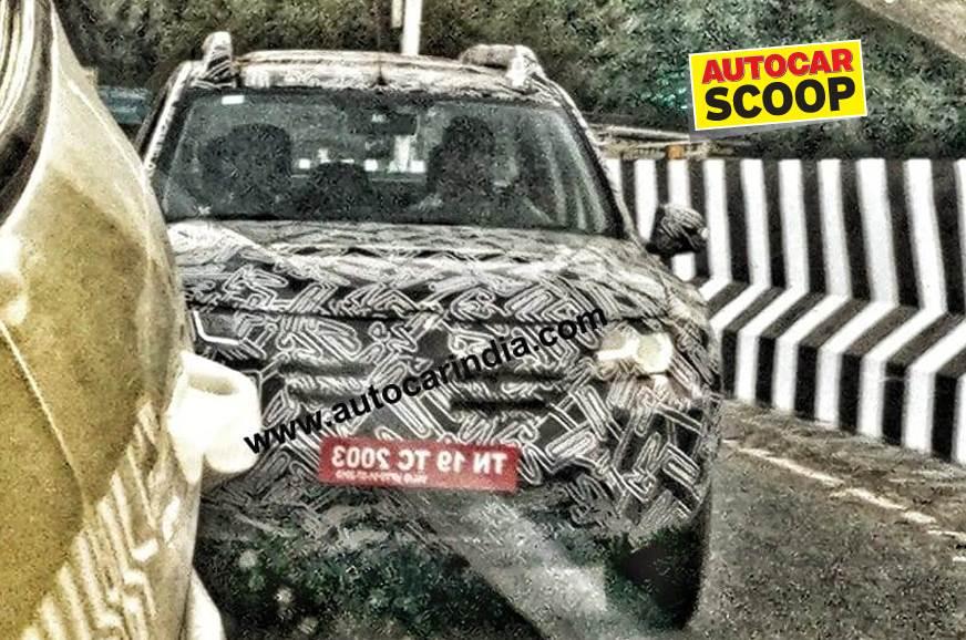 SCOOP! 2020 Renault Duster spied on Indian roads