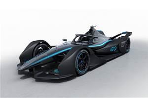 Mercedes-Benz reveals Formula E concept car