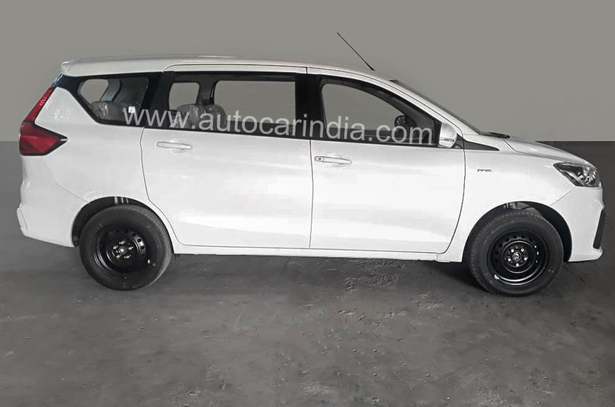 Maruti Ertiga VDi gets body coloured door handles and mirrors along with more features.