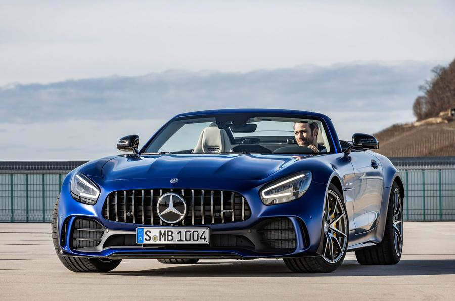 Mercedes-AMG GT R Roadster revealed