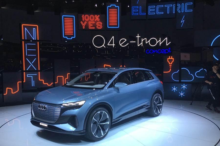 Audi Q4 E-tron electric SUV revealed