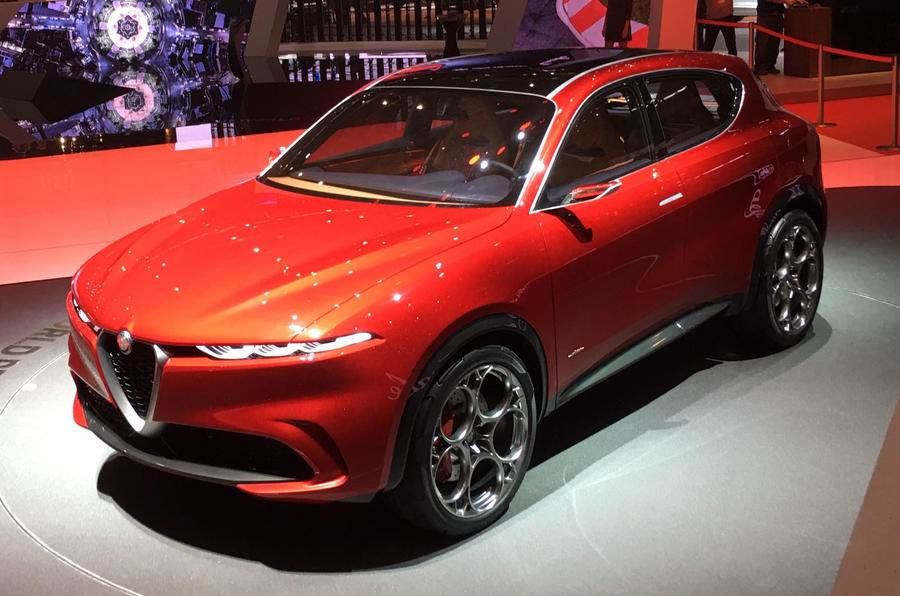 Alfa Romeo Tonale PHEV SUV previewed
