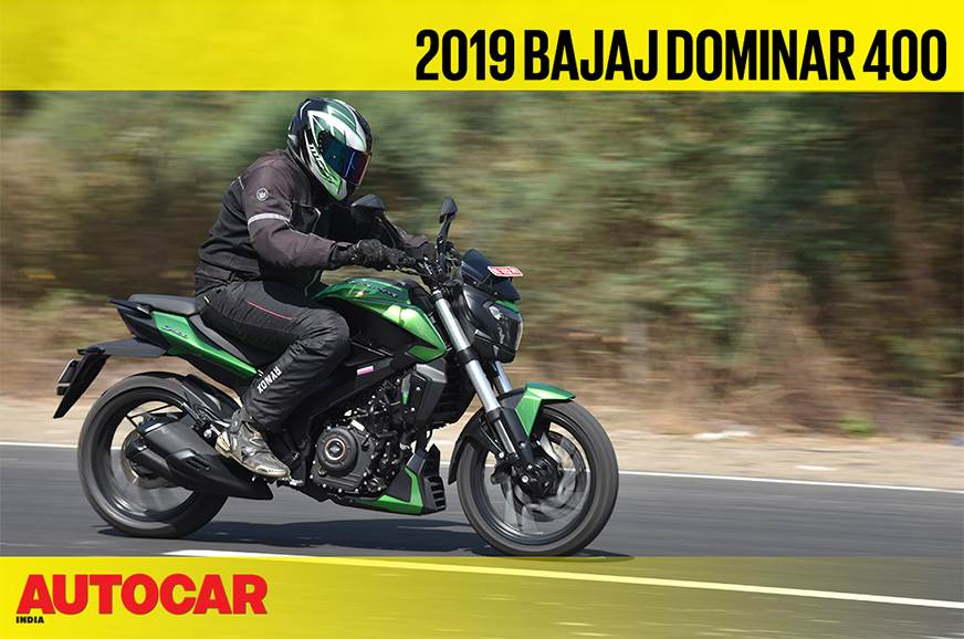 2019 Bajaj Dominar video review