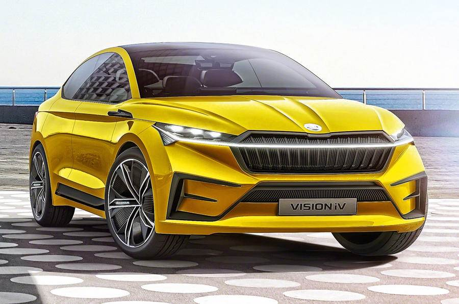 Skoda Vision iV SUV concept revealed