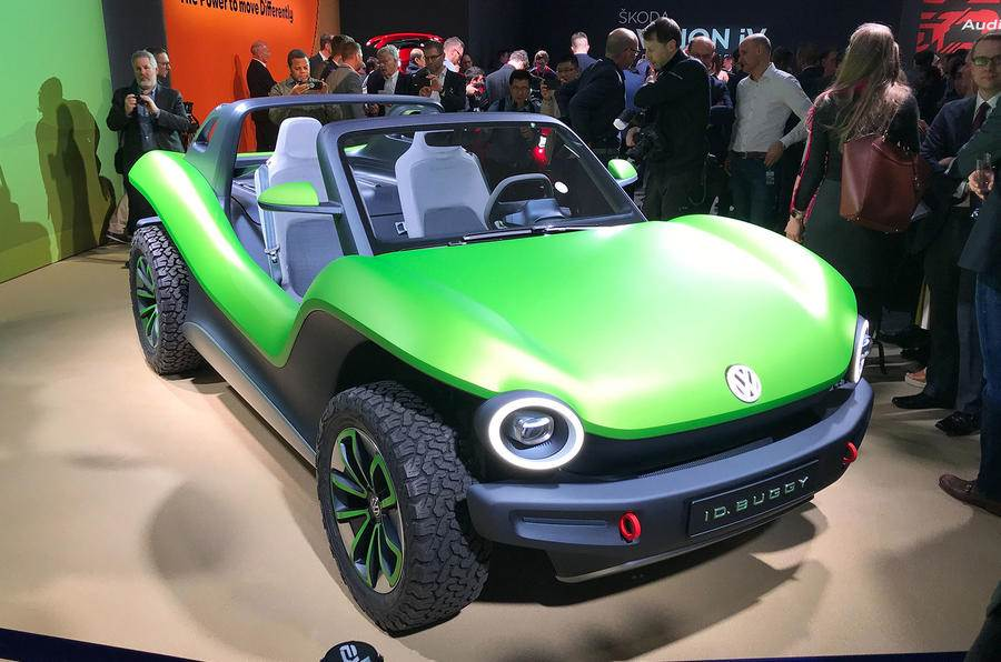 Volkswagen ID Buggy concept revealed at Geneva