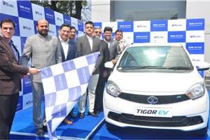 Tata Tigor EVs to join Wise Travel India fleet in New Delhi