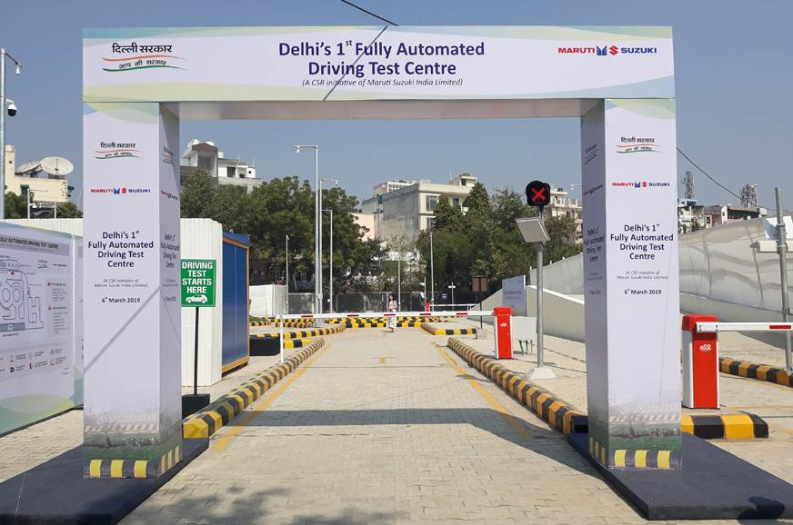 Delhi gets fully automated driving test centres
