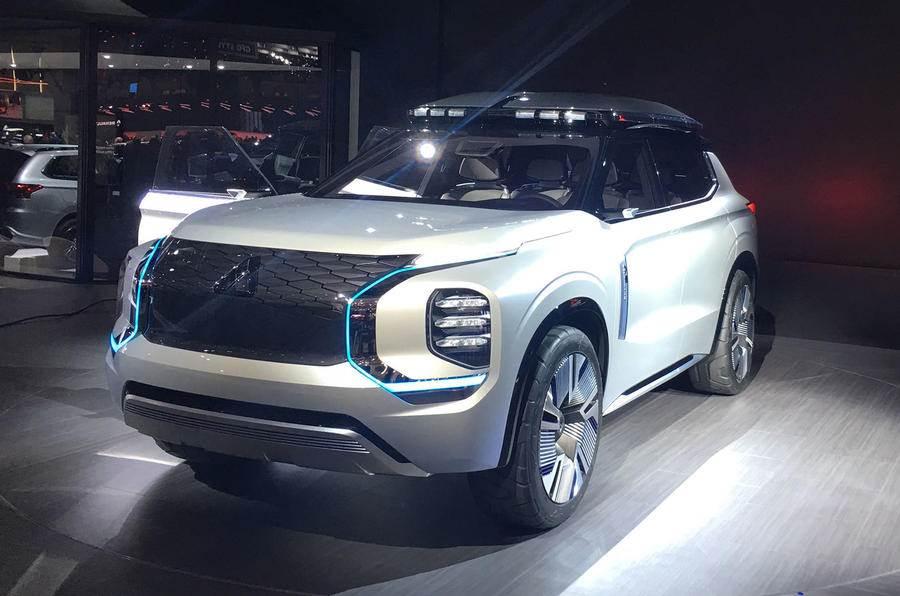 Electrified Mitsubishi Engelberg Tourer showcased at Geneva