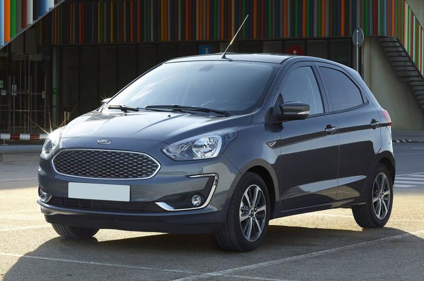 Image of the Ford Ka+ used for representation only.