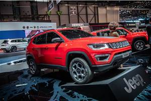 Jeep Compass plug-in hybrid revealed at 2019 Geneva motor show