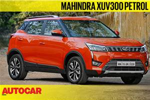 2019 Mahindra XUV300 petrol video review