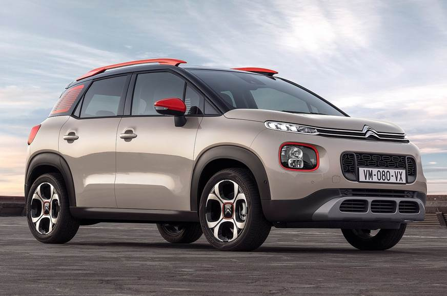 The Citroen C3 Aircross used for representation only.