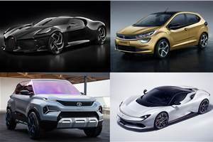 Star cars at the 2019 Geneva motor show